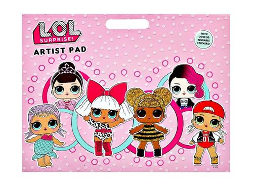 MGA ENTERTAINMENT GIOCHI EDUCATIVI GIOCHI CREATIVI L.O.L SURPRISE ARTIST PAD 3072