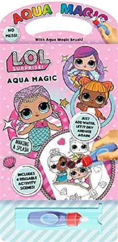 MGA ENTERTAINMENT GIOCHI EDUCATIVI GIOCHI CREATIVI L.O.L SURPRISE AQUA MAGIC NOVITA' 3077