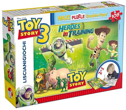 LISCIANI GIOCHI PUZZLE PUZZLE PUZZLE TOY STORY 108 PZ MAXI 2IN1