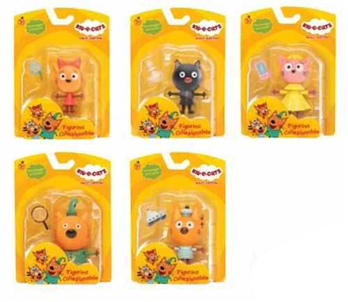 TOY PLUS GIOCATTOLI PERSONAGGI KID E CATS PERSONAGGI 8CM ASSORTITI