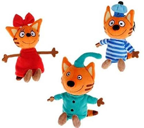 TOY PLUS PELUCHE ANIMALI KID E CATS PELUCHE 15CM ASSORTITI