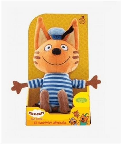 TOY PLUS PELUCHE ANIMALI KID E CATS PELUCHE 22CM CANTERINI ASS.