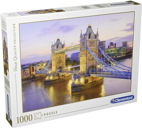 CLEMENTONI GIOCHI EDUCATIVI PUZZLE CLEMENTONI PUZZLE 1000 PEZZI TOWER BRIDGE 39022
