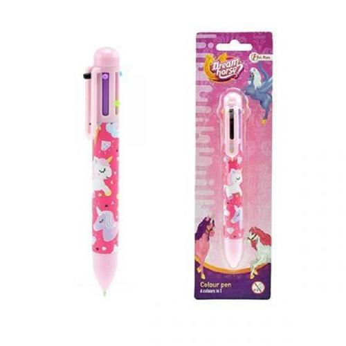 TOI TOYS ACCESSORI  GADGET PENNA DREAM HOUSE UNICORNO 6 COLORI