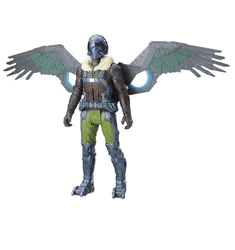 HASBRO GIOCATTOLI PERSONAGGI SPIDER-MAN HOME COMING VULTURE PERS. ELETT.