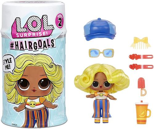 MGA ENTERTAINMENT BAMBOLE BAMBOLE LOL SURPRISE HAIRGOALS SERIE 2 MGA