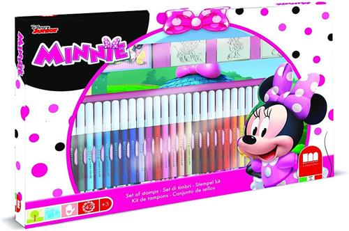 MULTIPRINT GIOCHI CREATIVI GIOCHI CREATIVI MINNIE SET TIMBRI E PENNAR. MULTIPRINT