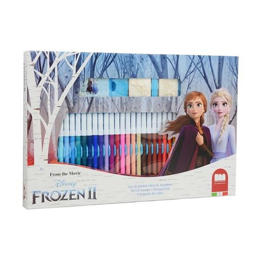MULTIPRINT GIOCHI CREATIVI GIOCHI CREATIVI FROZEN 2 SET TIMBRI E PENNAR. MULTIPRINT
