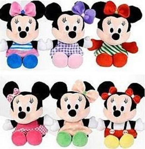 PELUCHE PELUCHE MINNIE DISNEY PELUCHE ASSORTITI 10CM
