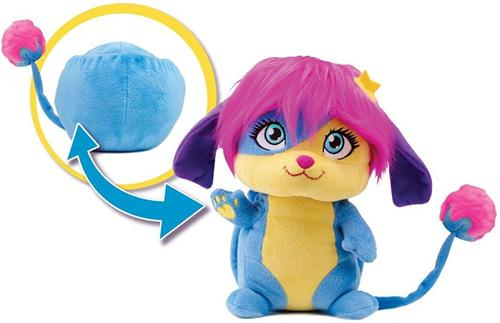SPIN MASTER PELUCHE PELUCHE POPPLES PELUCHE TRASFORMABILI DELUXE SPIN M.