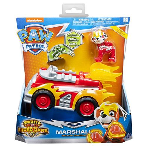 SPIN MASTER GIOCATTOLI PERSONAGGI PAW PATROL VEICOLI MIGHTY PUPS ASS. SPIN M.