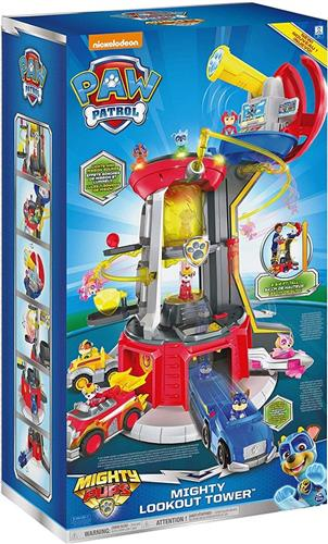 SPIN MASTER GIOCATTOLI PERSONAGGI PAW PATROL TORRE CONTROLLO MIGHT PUPS NEW