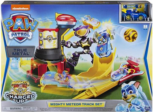SPIN MASTER GIOCATTOLI PERSONAGGI PAW PATROL MIGHTY METEOR PLAYSET SPIN M.