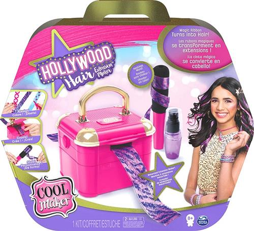 SPIN MASTER GIOCATTOLI ACCESSORI DI BELLEZZA COOL MAKER HOLLYWOOD HAIR SET EXTENSION