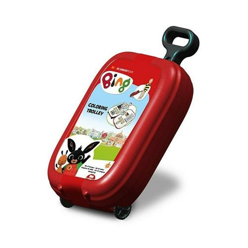 MULTIPRINT GIOCHI CREATIVI GIOCHI CREATIVI BING TROLLEY TIMBRI E COLORI MULTIPRINT