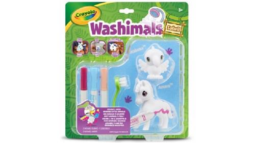 CRAYOLA GIOCHI EDUCATIVI GIOCHI CREATIVI WASHIMALS SET RICARICA SAFARI TUCANO/ZEBRA
