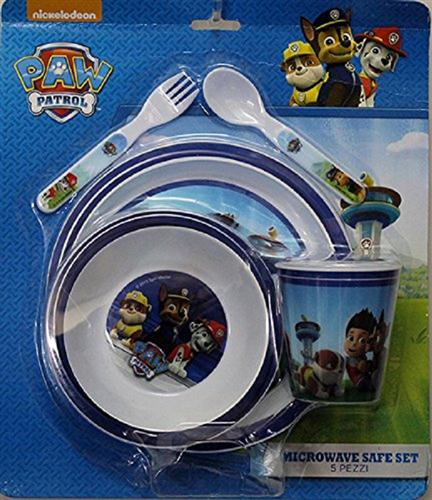 ACCADEMIA SCOLASTICA SET PAPPA SET PAPPA 5PZ PAW PATROL