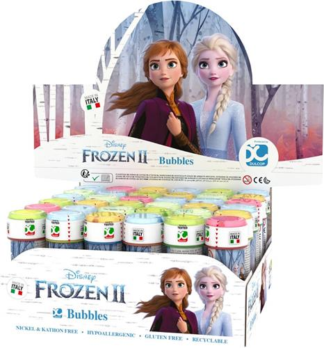 DULCOP GIOCATTOLI BOLLE DI SAPONE FROZEN 2 BOLLE SAPONE DUNLOP MADE IN ITALY