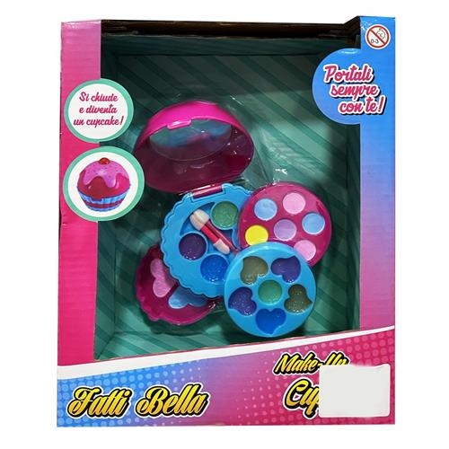 TOYS GARDEN GIOCATTOLI ACCESSORI DI BELLEZZA FATTI BELLA MAKE UP CUPCAKE 27043 T. GARDEN