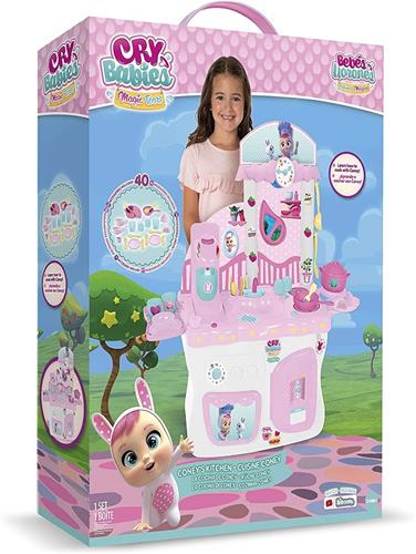 IMC TOYS GIOCATTOLI GIOCHI DA CAMERA  IMC TOYS 80096 CRY BABIES MAGIC TEARS CUCINA 20 ACCESSORI