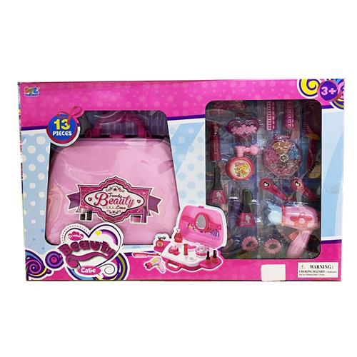 HUNGARY TOYS GIOCATTOLI ACCESSORI DI BELLEZZA TRENDY BEAUTY CASE VALIGETTA KIT BELLEZZA