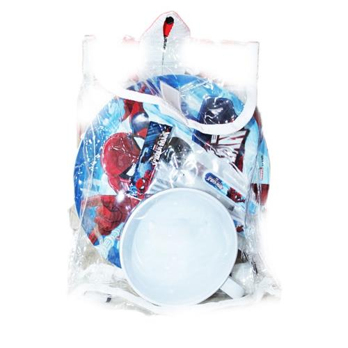 BBS SCOLASTICA SET PAPPA SPIDERMAN SET COLAZIONE 3 PZ