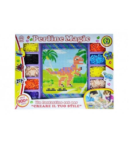 MAZZEO GIOCHI EDUCATIVI GIOCHI CREATIVI PERLINE MAGIC +900PZ MAZZEO