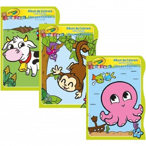 CRAYOLA GIOCHI CREATIVI GIOCHI CREATIVI CRAYOLA MINI KIDS ALBUM DA COL ASS. ANIMALI