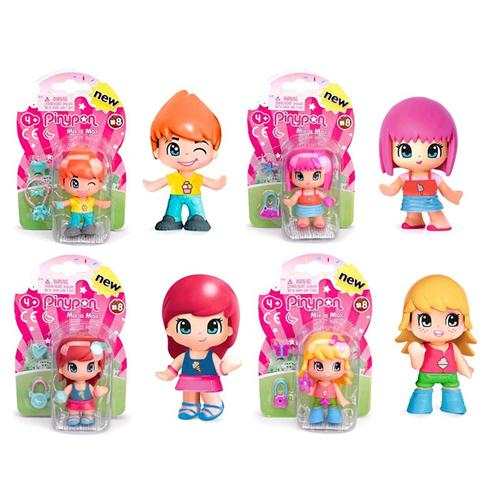 FAMOSA BAMBOLE BAMBOLE PINY PON MINI FIGURES ASS. NEW