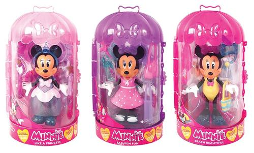 IMC TOYS BAMBOLE BAMBOLE MINNIE BOX PRINCIPESSE/BEACH ASS.