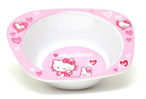 SAURIO SCOLASTICA SET PAPPA PIATTO HELLO KITTY