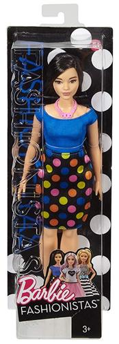 MATTEL BAMBOLE BAMBOLE BARBIE FASHIONISTAS NEW ASS.
