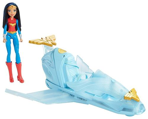MATTEL GIOCATTOLI  SUPER HERO GIRL WONDER WOMAN + JET INVISIBILE