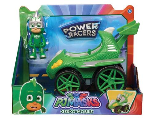 JUST PLAY GIOCATTOLI PERSONAGGI PJMASKS POWER RACERS PERS.+ VEICOLO ASS.
