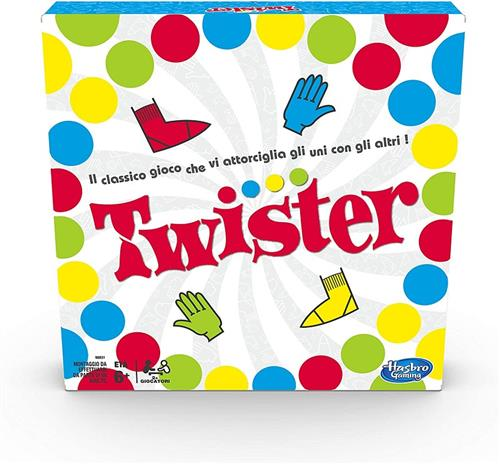 HASBRO GIOCHI DI SOCIETA GIOCHI DI SOCIETA TWISTER HASBRO GAMING NEW TV