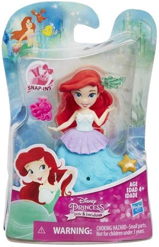 HASBRO BAMBOLE BAMBOLE MINI DISNEY PRINCESS SNAP-INS 10CM ASS. HASBRO