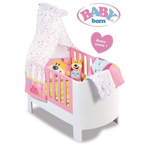 GIOCHERIA ACCESSORI  ACCESSORI PER BAMBOLE BABY BORN CULLA ESCLUSIVA MAGIC BED