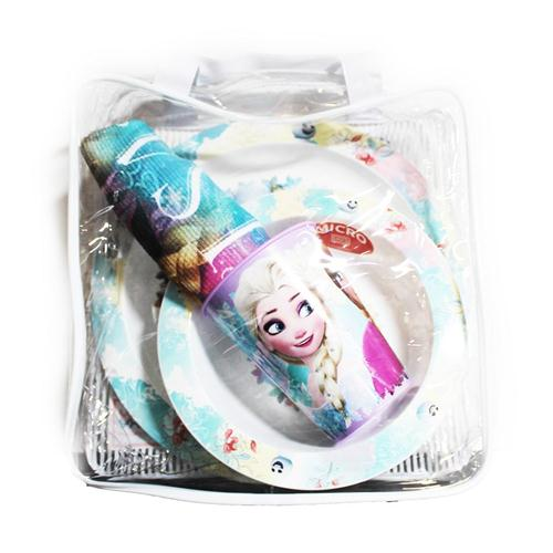 REAL TRADE ITALIA SRLS SCOLASTICA SET PAPPA FROZEN SET PAPPA 4 PEZZI