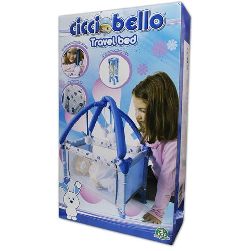 GIOCHI PREZIOSI BAMBOLE ACCESSORI PER BAMBOLE CICCIOBELLO TRAVEL BED LETTINO NEW