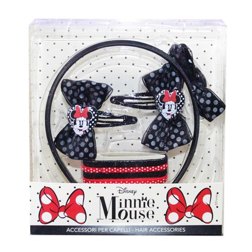 CORIEX SRL ACCESSORI  ACCESSORI PER CAPELLI MINNIE FASHION SET ACC. CAPELLI CORIEX