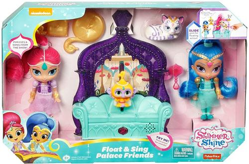 FISHER PRICE BAMBOLE BAMBOLE SHIMMER&SHINE PALACE FRIENDS