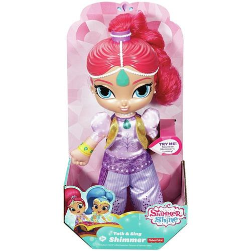 FISHER PRICE BAMBOLE BAMBOLE SHIMMER & SHINE BAMBOLA PARLANTE FISHER PRICE