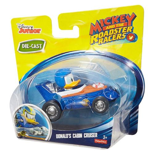 FISHER PRICE GIOCATTOLI AUTO E VEICOLI VARI DISNEY MICKEY ROADSTER R. AUTO PERS. ASS. DIE-CAST