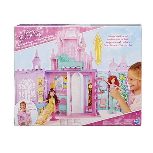 HASBRO BAMBOLE ACCESSORI PER BAMBOLE PRINCIPESSE CASTELLO PACK N GO POP UP