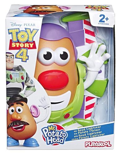 HASBRO GIOCATTOLI PERSONAGGI TOY STORY 4 MR POTATO WOODY BUZZ ASS.