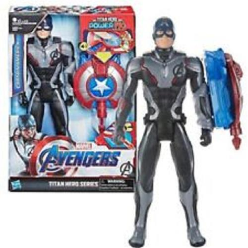 HASBRO GIOCATTOLI PERSONAGGI AVENGERS ENDGAME POWER FX 2.0 TH CAPITAN AMERICA