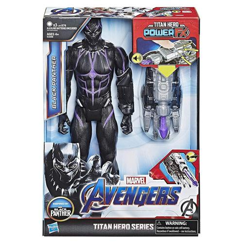 HASBRO GIOCATTOLI PERSONAGGI HASBRO E33061030 AVENGERS ENDGAME TITAN HERO POWER FX 2 HERO BLACK PANTHER