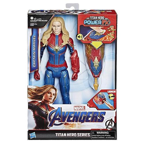HASBRO GIOCATTOLI PERSONAGGI AVENGERS TH POWER FX 2 CAPITAN MARVEL