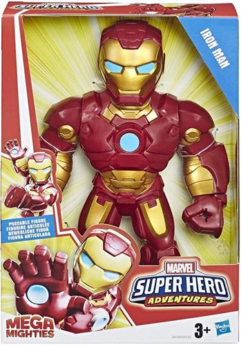 HASBRO GIOCATTOLI PERSONAGGI MARVEL MEGA MIGHTIES MEGA IRON MAN HASBRO