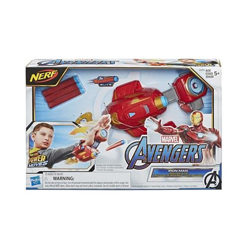 HASBRO GIOCATTOLI ARMI E TRAVESTIMENTI AVENGERS POWER MOVES ARMI IRON MAN NERF